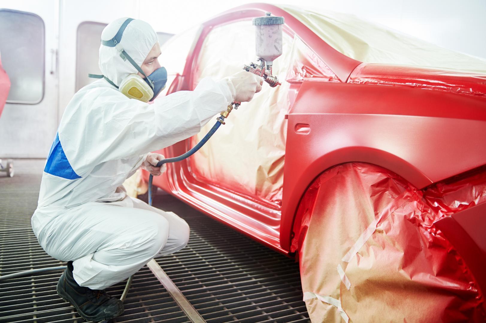 Quelques astuces pour refaire la peinture de votre carrosserie